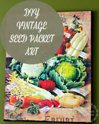 vintage seed packets vintage seed packet new house new home