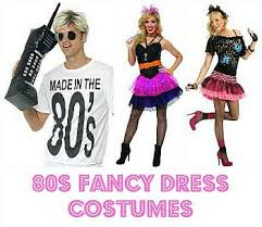 Mens 80s Halloween Costumes Fancy Dress 80s Simplyeighties