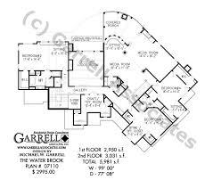 water brook house plan craftsman house plans