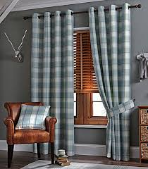 Grey Plaid Curtains Living Room Gray Tartan Curtains Grey Curtains Velour Curtains