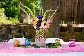 Homemade Table Centerpieces For Parties by Top 35 Summer Birthday Party Ideas Table Decorating Ideas