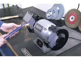 draper ghd150 230v 150mm heavy duty bench grinder