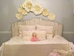 flowers home decor paper flower home decor little girls room decor with paper flowers
