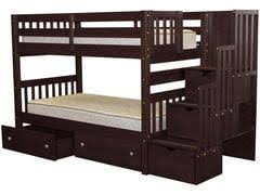 Amazon Com Bunk Bed All In 1 Loft With Trundle Desk Chest Closet by Bunk Beds With Drawers Bunk Beds With Stairs View Full Size