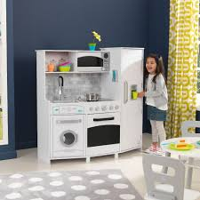 kidkraft large play kitchen playset white toys