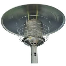 Table Top Gas Patio Heater by Homcom 4 Kw Outdoor Table Top Stainless Steel Gas Heater 01 0060