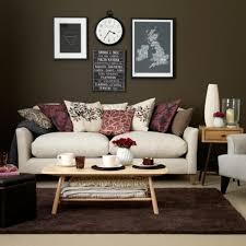 wohnzimmer in braun und weiss wohnzimmer braun weiß sofa rosa rot farbe wohnzimmer