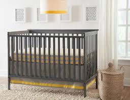 graco rory 4 in 1 convertible crib pebble gray babies