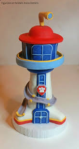 paw patrol tower cake figurine tour pat patrouille https www