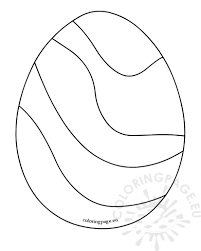 19 easter egg coloring page free printable easter egg coloring
