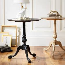 black and gold side table the emily meritt aubrey bedside table pbteen