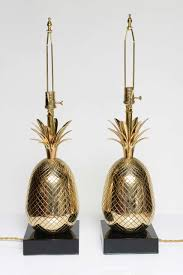 Pineapple Table Lamp Brass Pineapple Lamp Home Blogar