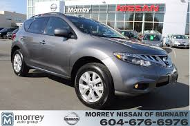 nissan canada extended warranty 2014 nissan murano sl leather sunroof for sale morrey infiniti