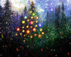 Christmas Tree Pictures 2014 Moon Glitter Christmas Tree For Michelle By Rabbitica On Deviantart