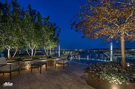 patio ideas rooftop outdoor patio lighting omaha nebraska mckay