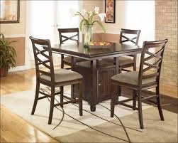 kitchen round glass dining table with wooden base rustic living