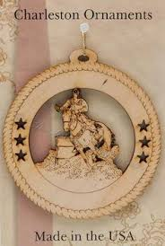 horseback rider ornament saddle ornaments