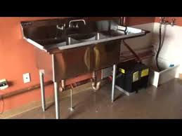 Grease Trap For Kitchen Sink Mathews Brothers Plumbing Hvac 2 Bay Sink And Grease Trap In