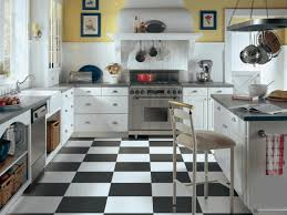 painting kitchen tile backsplash black and white kitchen floors smooth gray marble countertop plain