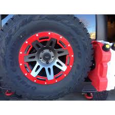 black and jeep rims rugged ridge 15250 03 protector black 18 inch wheel