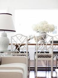 white bamboo dining chairs with david hicks la fiorentina fabric