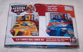 Transformer Bed Set Act Mg501 Ukulele Rescue Bots Quilt Cover And Room