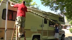 Dometic 9100 Power Awning Carefree Of Colorado Travel U0027r Power Awning Install Youtube