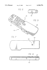 patent us6106576 adjustable massage bed assembly with handheld