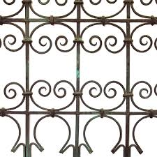 arched top iron jali screen omero home