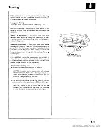 Honda Legend 1991 2 G Workshop Manual