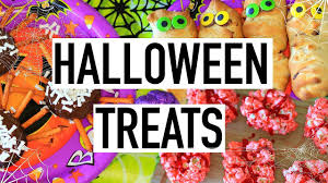 diy halloween treats easy and yummy cooking with liv ep 2 youtube