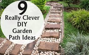 Garden Path Ideas 9 Really Clever Diy Garden Path Ideas Diy Home Things