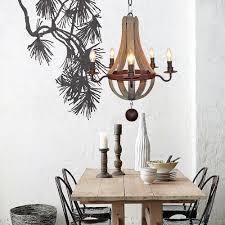 home depot interior lighting lighting farmhouse oak wood and bronze 5 light chandelier home