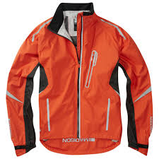 waterproof bike jacket madison prime men u0027s waterproof jacket orange bike shop london