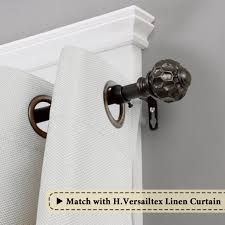 Montevilla Decopolitan 72 144 In by Amazon Com H Versailtex Window Treatment Magic Ball Finials Caps