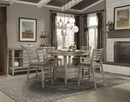 cresent fine furniture corliss landing 5 piece gathering set in