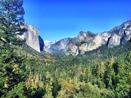bridalveil falls yosemite california travel to eat