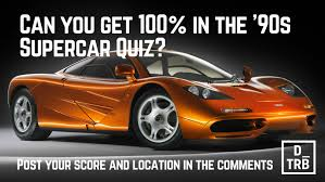 bmw supercar 90s can you get 100 in the u002790s supercar quiz drivetribe