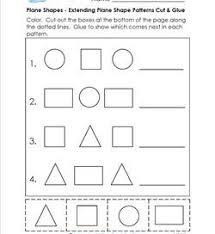 geometry worksheets for kinder u0026 first grade a wellspring