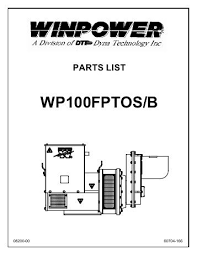 10 7 ptcd parts list and wiring diagram winco generators