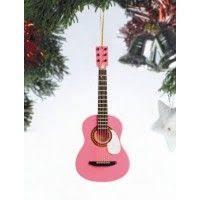 black electric guitar tree ornament hiddentreasuresdecorandmore