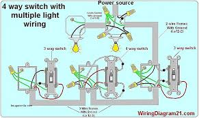 how to wire light switches diagram luxury 4 way light