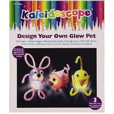 kaleidoscope glow bugs boxed craft kit 3 pack the warehouse