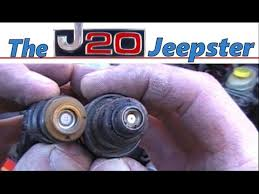 jeep fuel injector how to do the fuel injector upgrade on 96 98 jeep