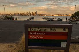 Map Of West Seattle Viewpoi by Don Armeni Boat Ramp Parks Seattle Gov