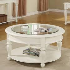 round white wood coffee table essex point round cocktail table shores white riverside furniture