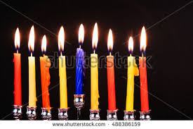 hanukka candles hanukkah candles stock images royalty free images vectors