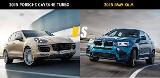 porsche cayenne turbo vs turbo s friday 2015 porsche cayenne turbo vs 2015 bmw x6 m