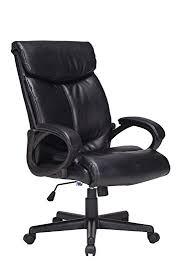 amazon com viva office bonded leather chair high back swivel