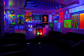 Black Light Bedrooms Blacklight Room That Would Be So Awesome Home